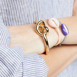 kate spade | love me knot statement cuff bracelet